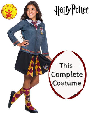GRYFFINDOR Complete Costume Set, CHILD, HARRY POTTER