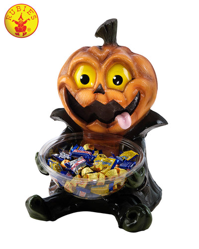 Pumpkin Candy Bowl Holder - halloween Candy Holder - Red Top Box