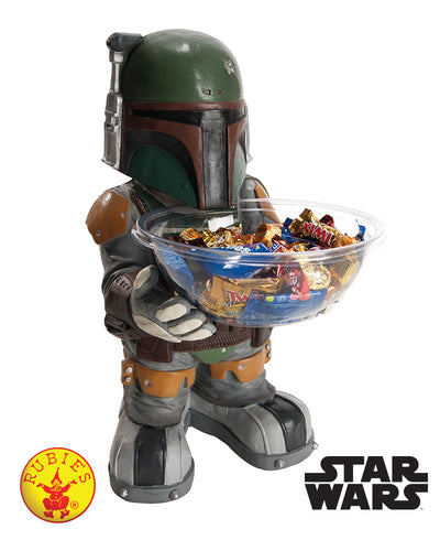Star Wars Boba Fett Candy Bowl Holder Licensed - Red Top Box