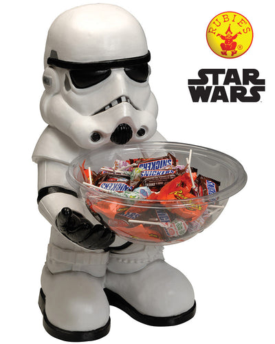 Star Wars Storm Trooper Rogue One Candy Bowl Licensed - Brisbane Costumes
