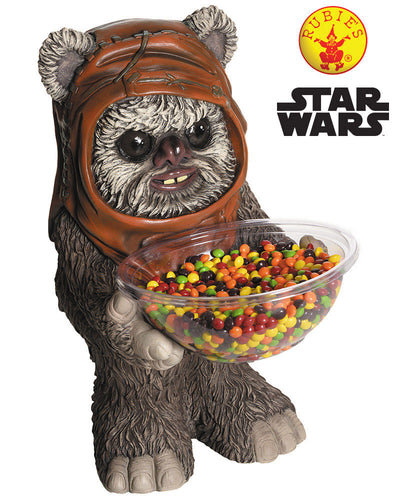Star Wars Ewok Candy Bowl Licensed - Red Top Box