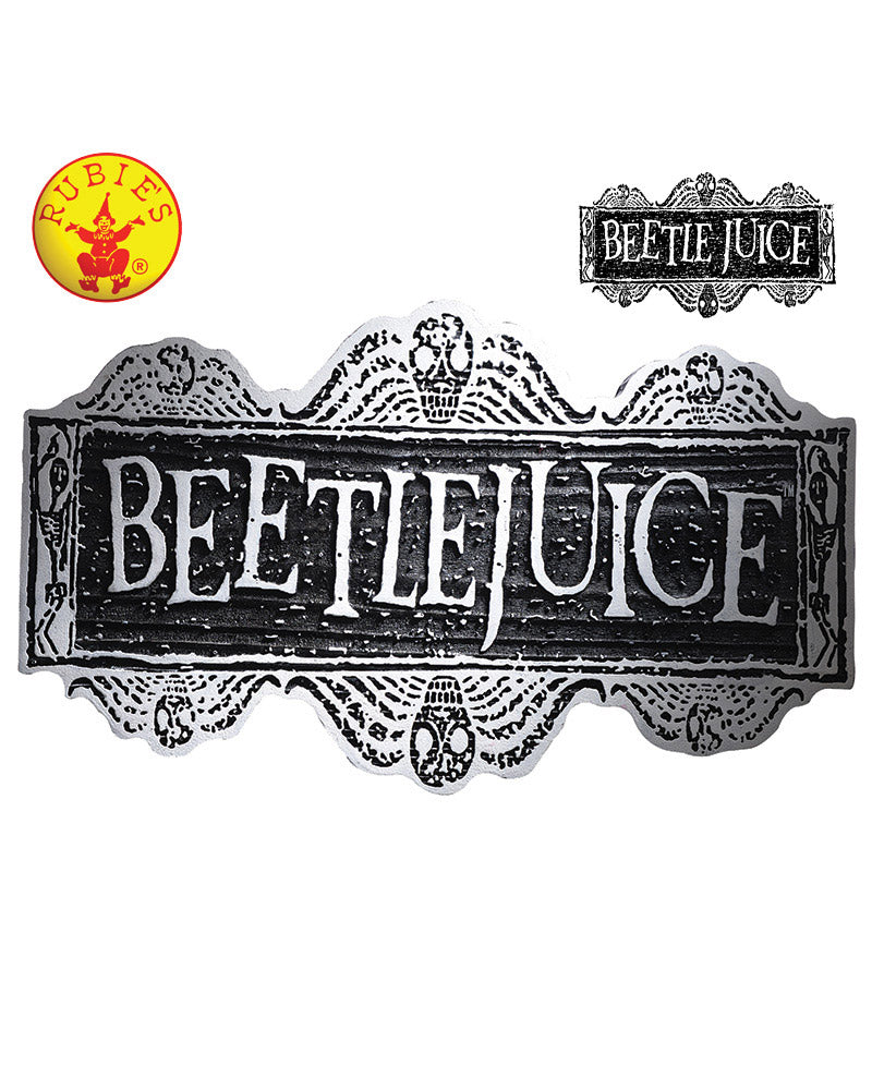 Beetlejuice Sign - Red Top Box