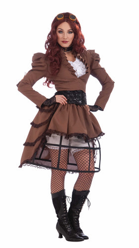 Co-Steampunk Vicky Gatsby - Size Std - Red Top Box