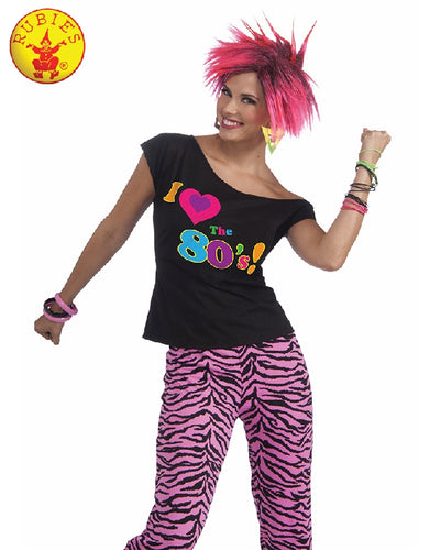 I Love The 80S Shirt Womens Costume