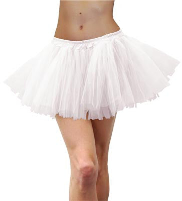 Adult Tulle Tutu - White - Red Top Box