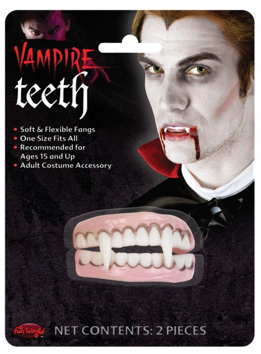 Vampire Teeth Set - Red Top Box
