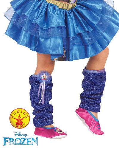 Anna Leg Warmers - Disney Princess Frozen - Red Top Box