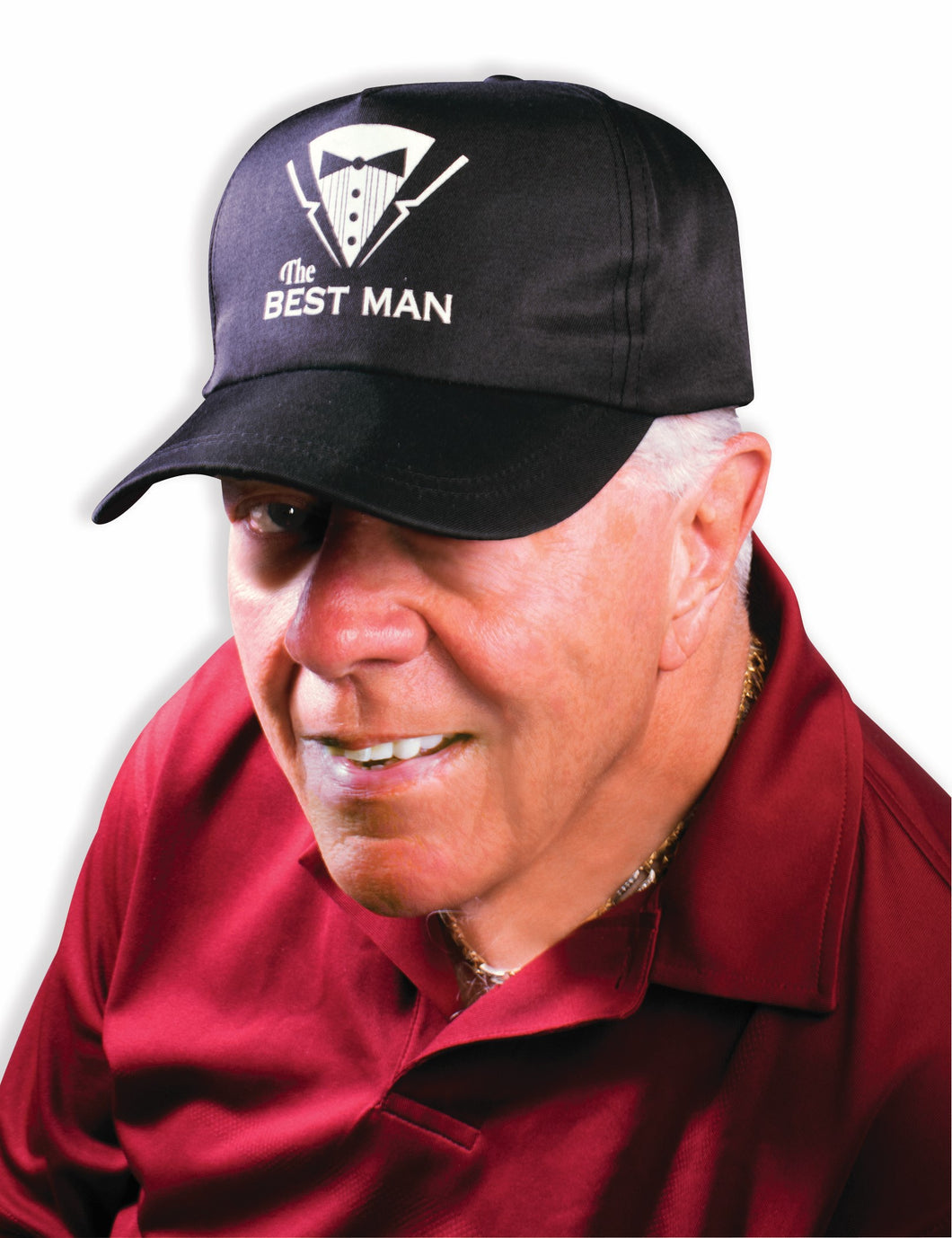 Bachelor Hat - Best Man - Red Top Box