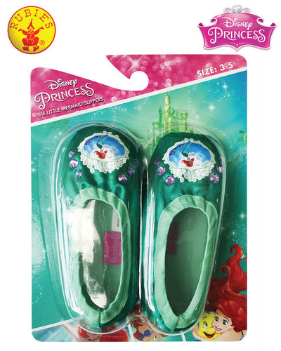 Ariel Slippers, Child - Disney Princess - Red Top Box