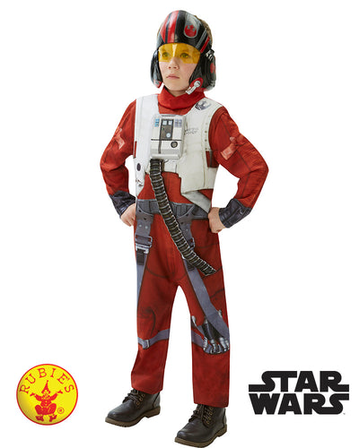 Poe X-Wing Fighter Star Wars Deluxe Child Costume