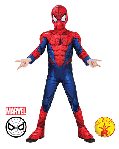 Spider Man Deluxe Boys Costume
