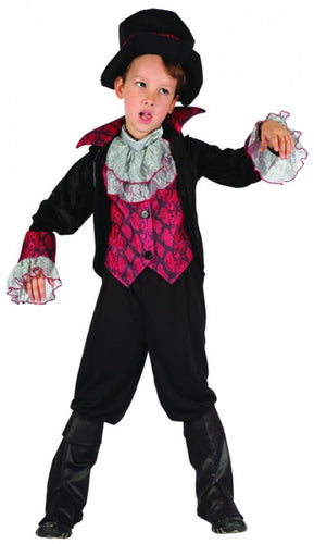 Lil Vampire Boy - Child - Halloween - Red Top Box