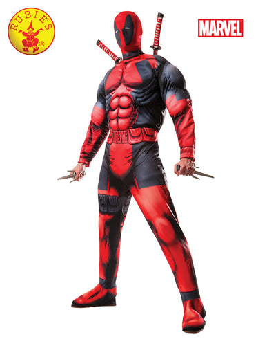 Rubies Marvel Deadpool Adult DLX Licensed