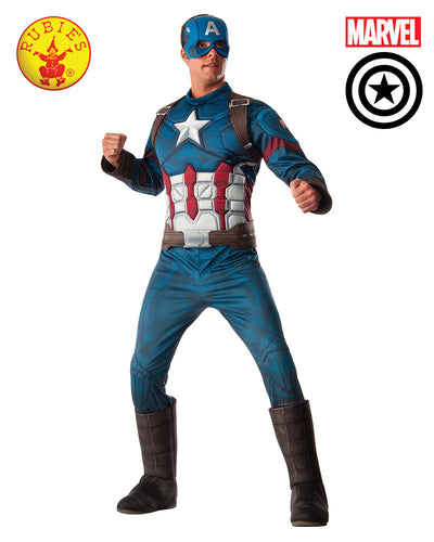 Captain America Avengers 2 Deluxe Adult Costume- Oz Comic Con