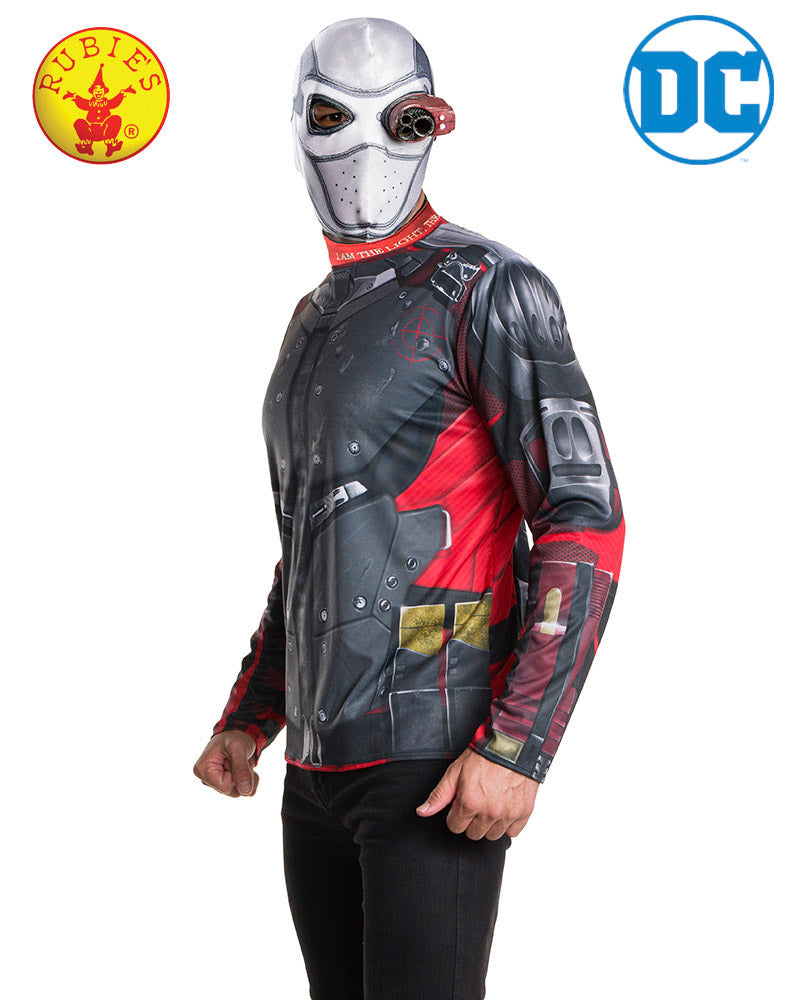 Deadshot Costume Kit Adult - Supanova - Oz Comic Con - Red Top Box