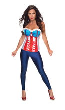 American Dream Corset - Red Top Box