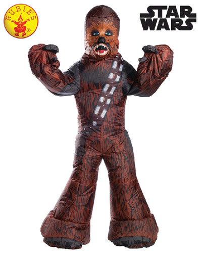CHEWBACCA INFLATABLE COSTUME, ADULT