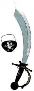 Pirate Sword and Eyepatch - Red Top Box