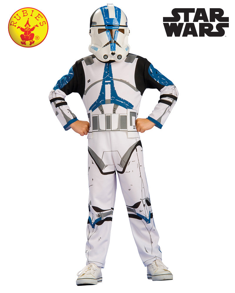 Star Wars Clone Trooper Action Suit Boxed - Size M - Star Wars Licensed - Red Top Box