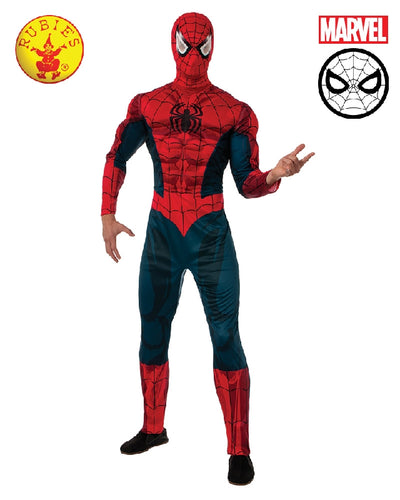 Spider-Man Adult Head Mask - Justice League