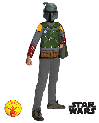 Boba Fett Classic Costume, Child - Supanova - Oz Comic Con - Star Wars Licensed - Red Top Box