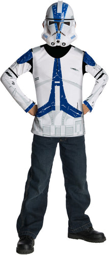 Clone Trooper Costume Top - Size M - Brisbane Costumes