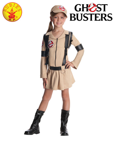 Child Ghostbusters Girl - Red Top Box