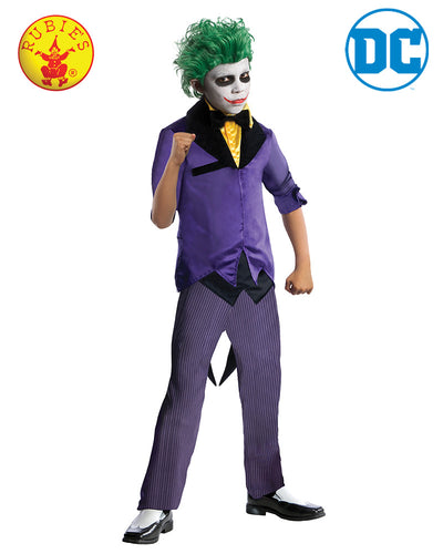 The Joker Costume, Child with Pants - Supanova - Oz Comic Con - Red Top Box