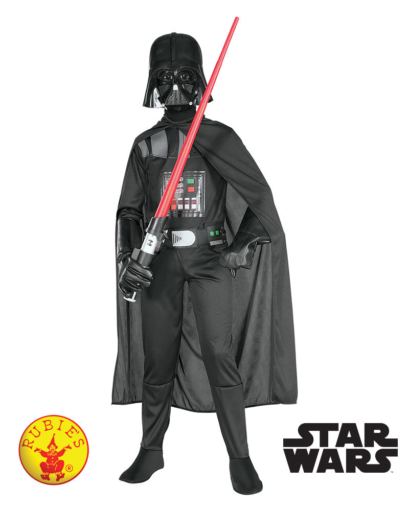 Star Wars Darth Vader Suit Rogue One - Child - Star Wars Licensed - Red Top Box