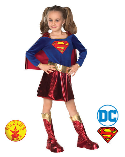 Child Dlx Supergirl - Rubie's Licensed