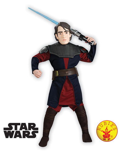Anakin Skywalker Clone Wars Deluxe, Child - Star Wars - Supanova - Oz Comic Con - Red Top Box