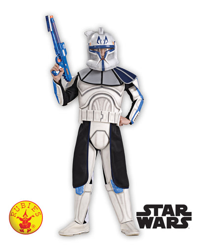 Clone Trooper Captain Rex Child Deluxe, Child - Supanova - Oz Comic Con - Red Top Box