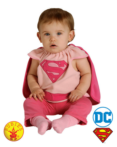 Supergirl - Size 0-6 Months - Red Top Box