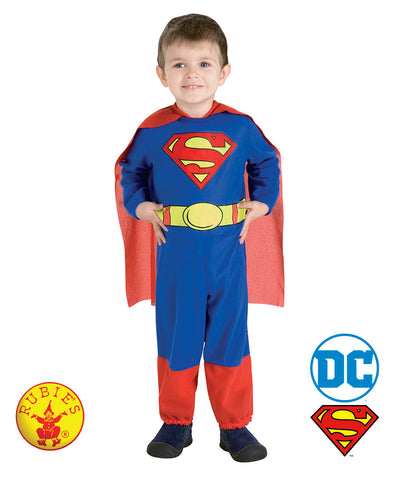 Superman - Size 6-12 Months - Red Top Box