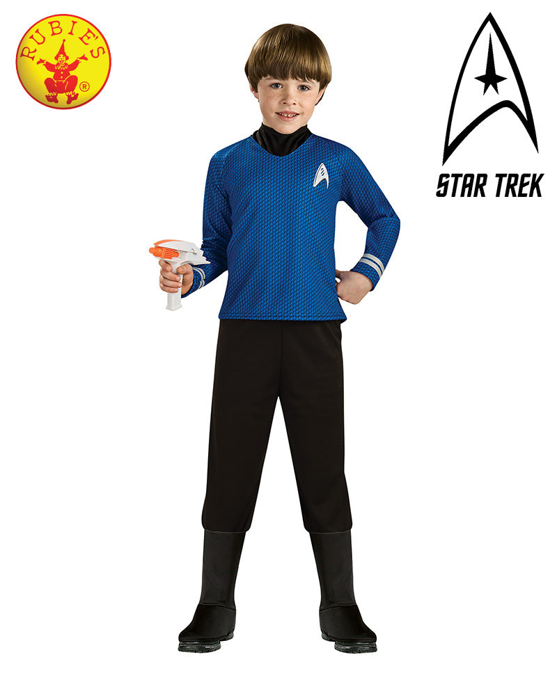 Star Trek Dlx Blue Shirt