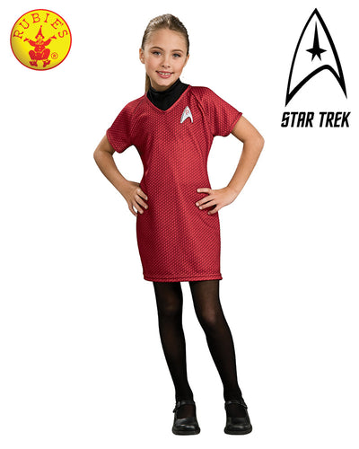 Child Star Trek Dlx Red Dress