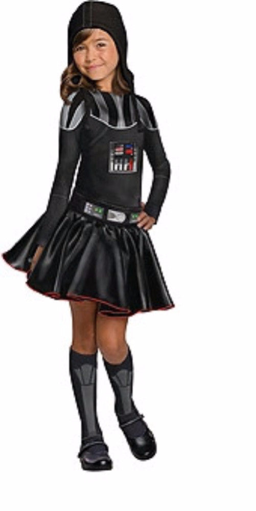 Star Wars Darth Vader Rogue One - Girl - Star Wars Licensed - Red Top Box