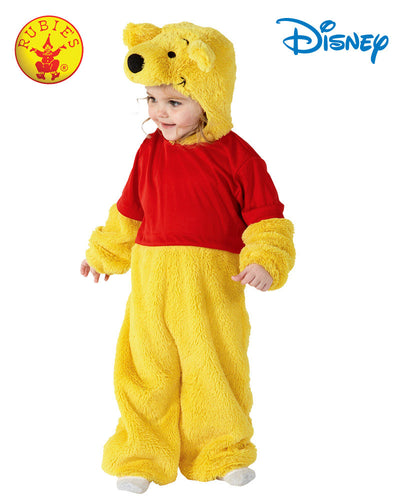 Furry Winnie The Pooh - Size Toddler - Red Top Box