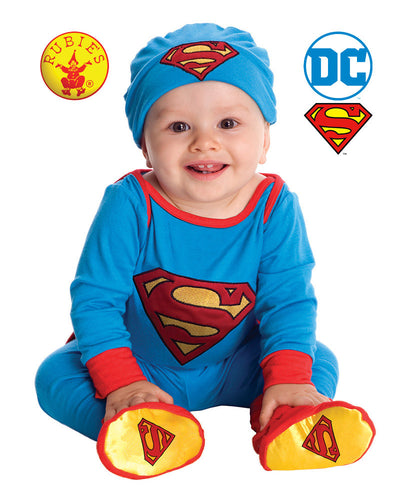 Superman Onesie - Red Top Box
