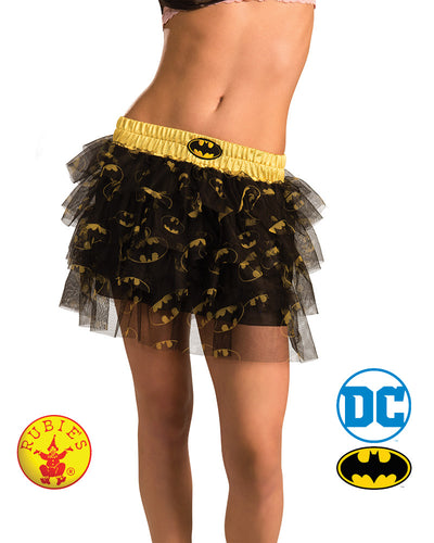 Batgirl Skirt With Sequins Teen - Size Std - Red Top Box
