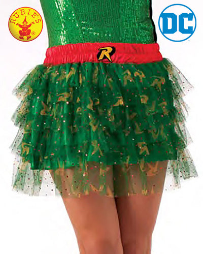 Robin Skirt With Sequins Teen - Size Std - Red Top Box