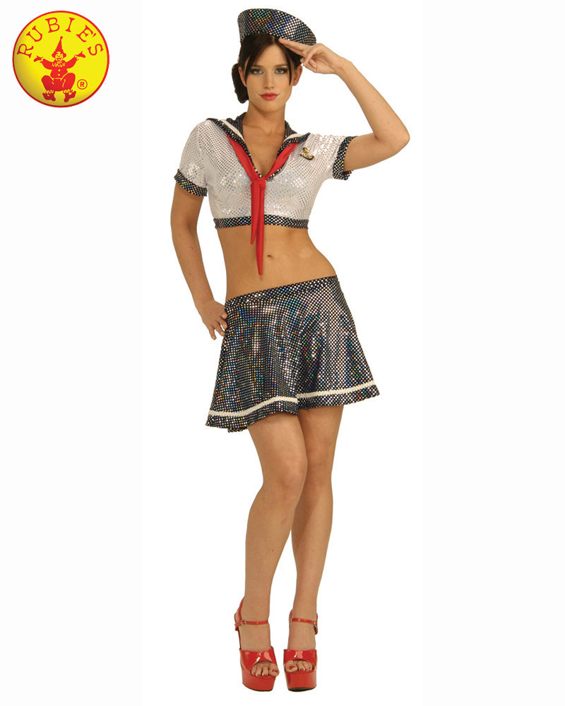 Ahoy Matey Ladies Secret Wishes Costume - Red Top Box