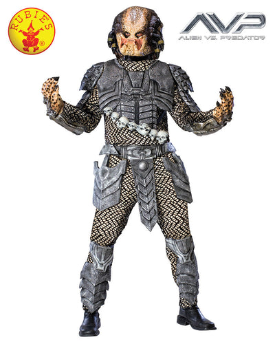 Predator Adult Deluxe Costume - Size Std - Red Top Box