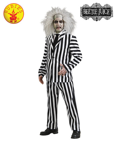 Beetlejuice Deluxe Adult - Red Top Box