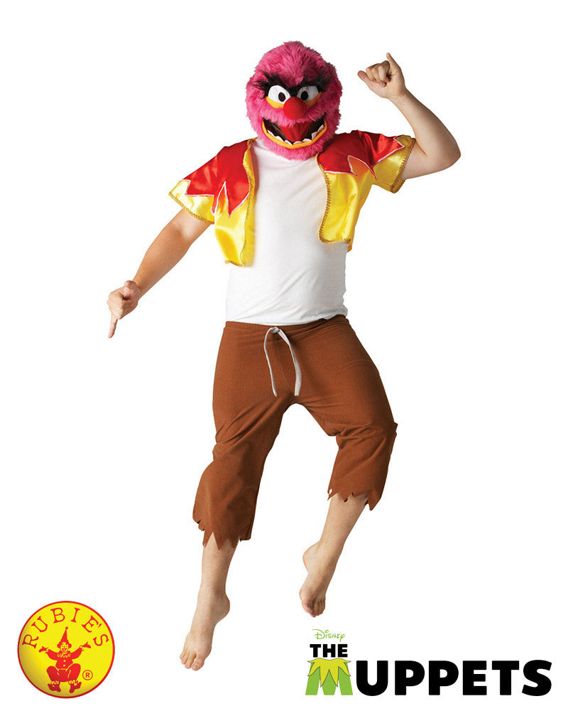 Animal Muppets Costume - Size Std - Red Top Box