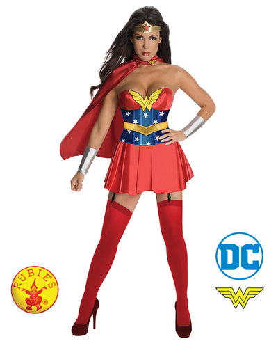 Secret Wishes Wonder Woman, Adult - Red Top Box