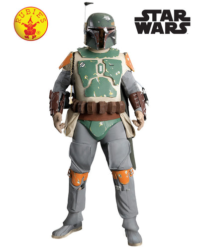 Boba Fett Supreme Adult - Star Wars Licensed - Red Top Box