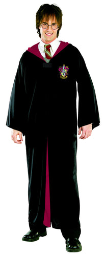 Harry Potter Classic Adult Robe - Size Std - Red Top Box