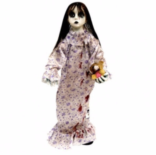 Animated Dancing Doll w/Halloween Music - Red Top Box