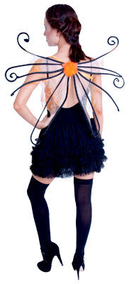 Spider Fairy Wings - Orange*** - Red Top Box